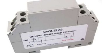 DVT-100 DIN Rail-Mounted Isolated DC Voltage Transducer