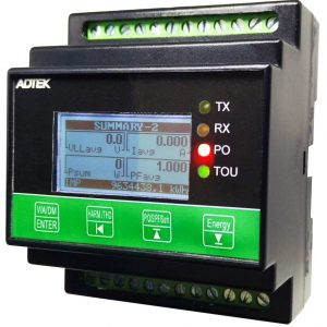 Multifunction Power Meter (DIN rail)