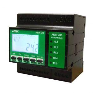 AEM-DD Multi-Circuit DC Power Meter (DIN rail)